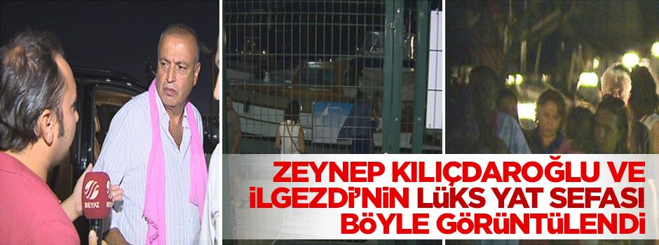 İlgezdi ve Zeynep Kılıçdaroğlu'nun lüks yat keyfi böyle görüntülendi!