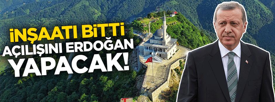 İnşaatı bitti, açılışını Erdoğan yapacak!