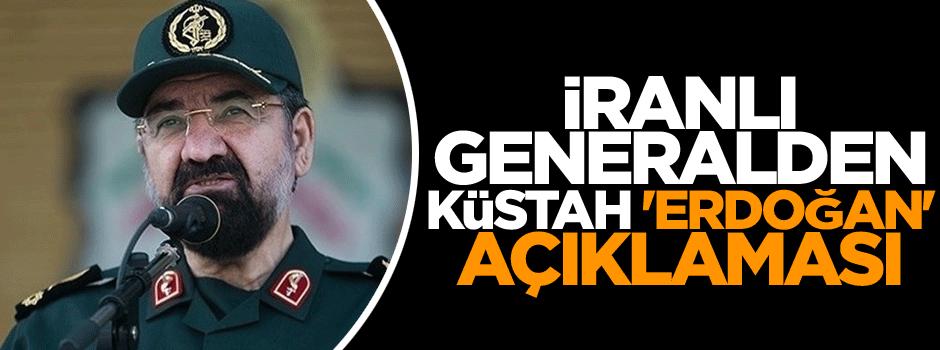 İranlı Generalden küstah 'Erdoğan' açıklaması