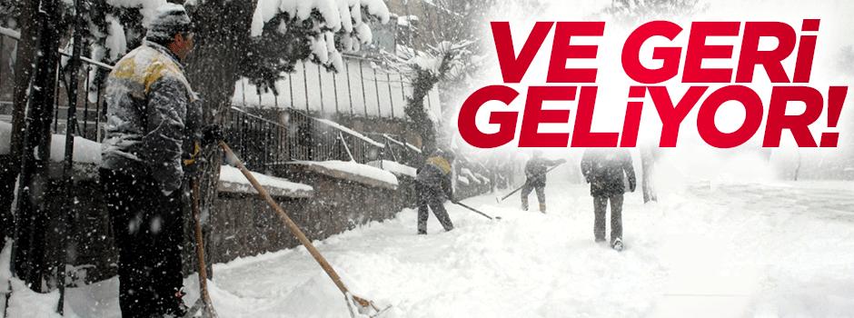 İstanbul'a kar uyarısı!