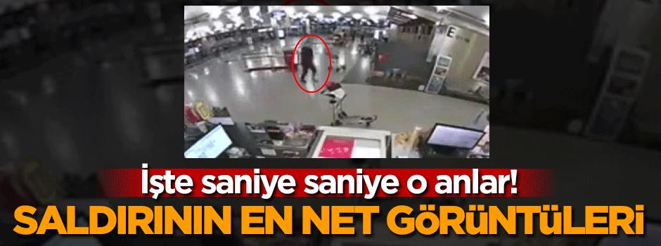 İşte Atatürk Havalimanı saldırısının en net görüntüleri!