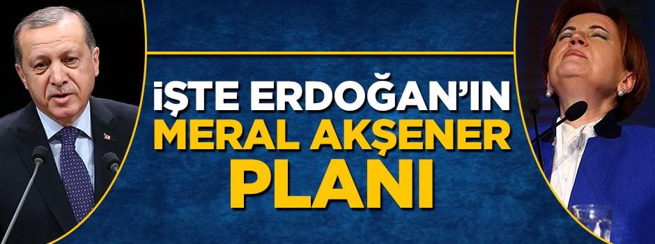 İşte Erdoğan'ın Meral Akşener planı
