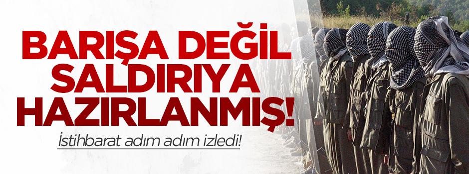 İşte PKK'nın saldırı hazırlığı