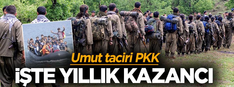 Umut taciri PKK, işte yıllık kazancı