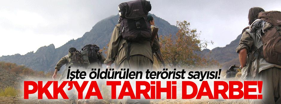 İşte son öldürülen terörist sayısı!