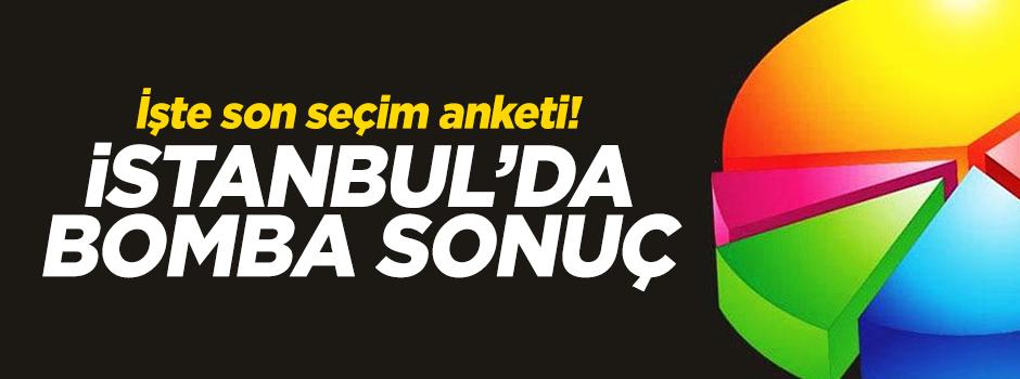 İşte son seçim anketi! İstanbul'da bomba sonuç