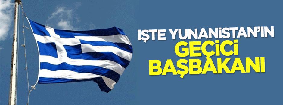 İşte Yunanistan'ın geçici Başbakanı