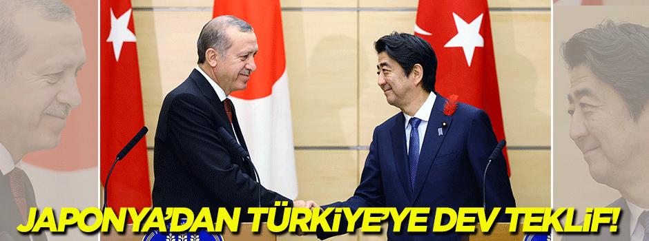 Japonya'dan Türkiye'ye dev teklif!