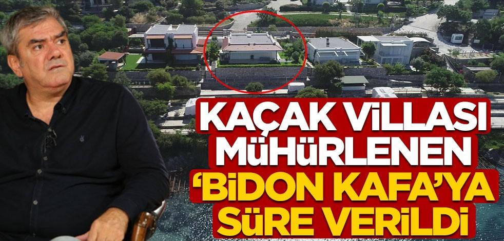Kaçak villası mühürlenen Yılmaz Özdil'e süre verildi!