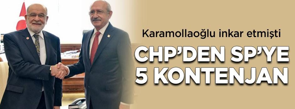 Karamollaoğlu inkar etmişti, CHP'den 5 kontenjan çıktı!