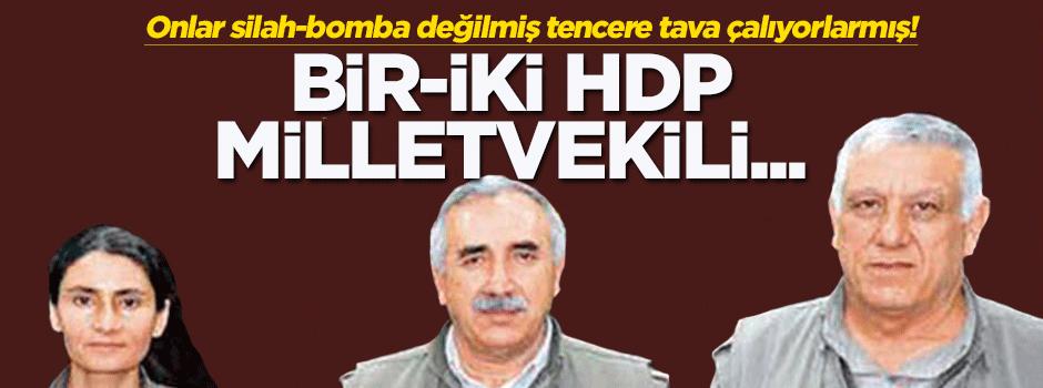 KCK: Bir-iki HDP milletvekili yer alıyor diye...