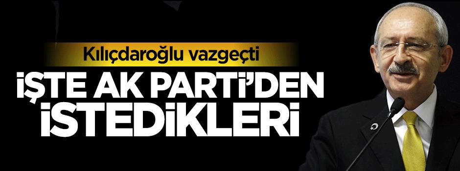 Kemal Kılıçdaroğlu 14'ten 5'e indi