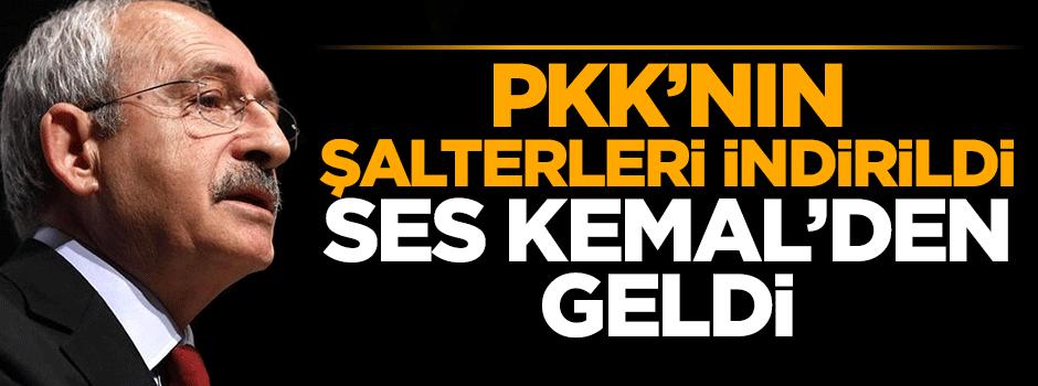 PKK'nın şalterleri indirildi, ses Kemal'den geldi