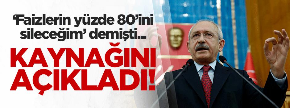 Kılıçdaroğlu faizleri nasıl sileceğini açıkladı