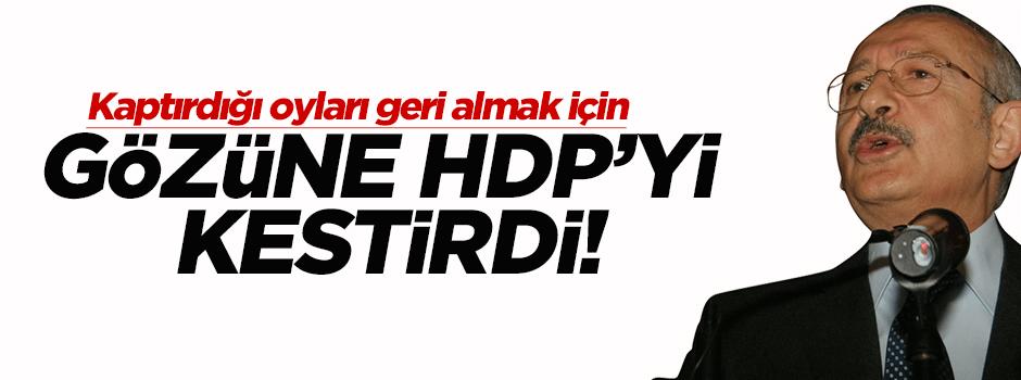 Kılıçdaroğlu HDP'ye yüklendi