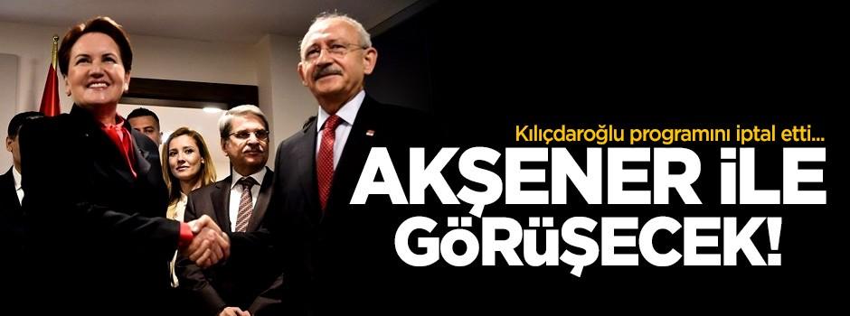 Kılıçdaroğlu ile Meral Akşener görüşecek