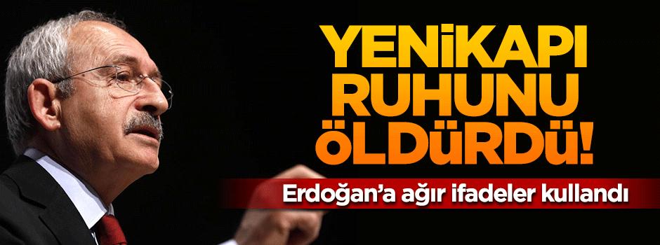 Kılıçdaroğlu 'Yenikapı' ruhunu öldürdü!