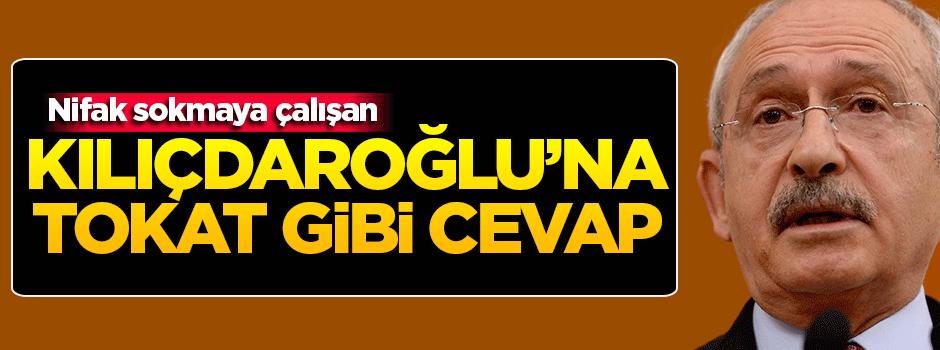 Kılıçdaroğlu'na tokat gibi 'Davutoğlu' cevabı