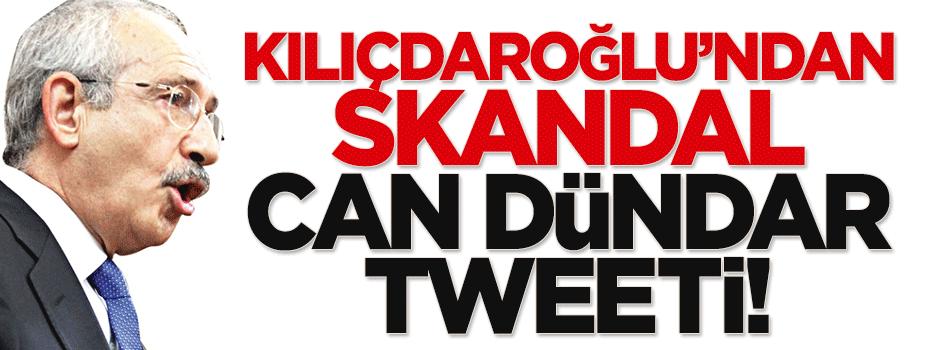 Kılıçdaroğlu'ndan skandal Can Dündar tweeti!