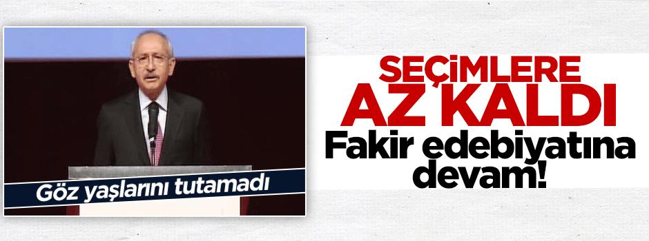 Kılıçdaroğlu'nun gözleri doldu/VİDEO