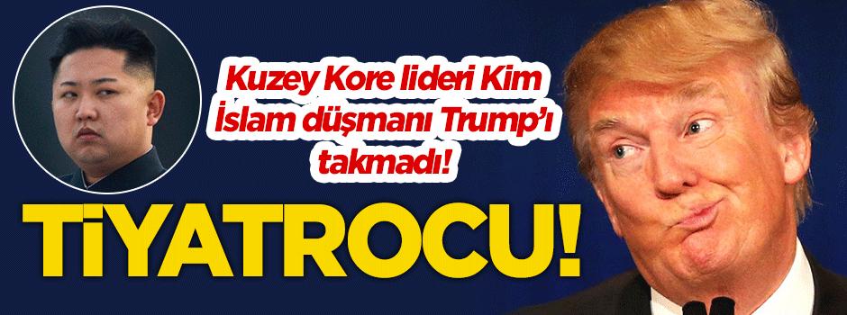 Kim Trump'ı ciddiye almadı: Tiyatrocu!