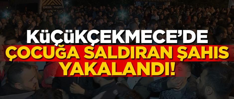 K.Çekmece'de çocuğa saldıran şahıs yakalandı