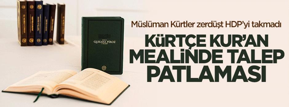 Kürtçe Kur'an mealinde talep patlaması