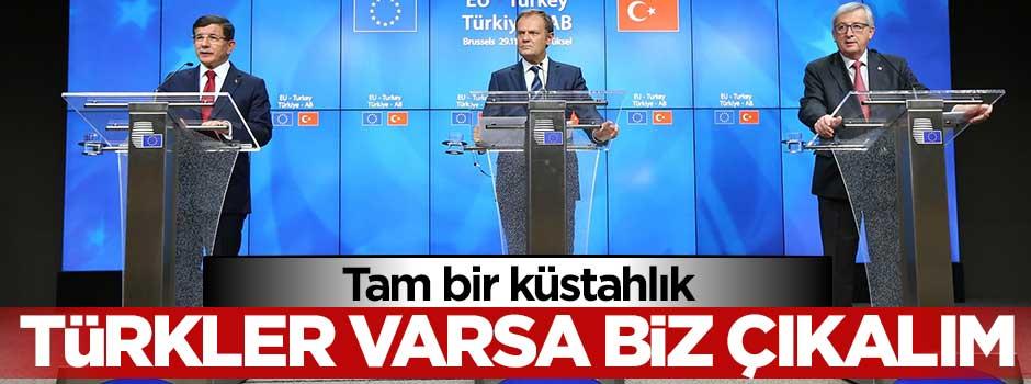 Tam bir küstahlık: Türkler varsa biz çıkalım