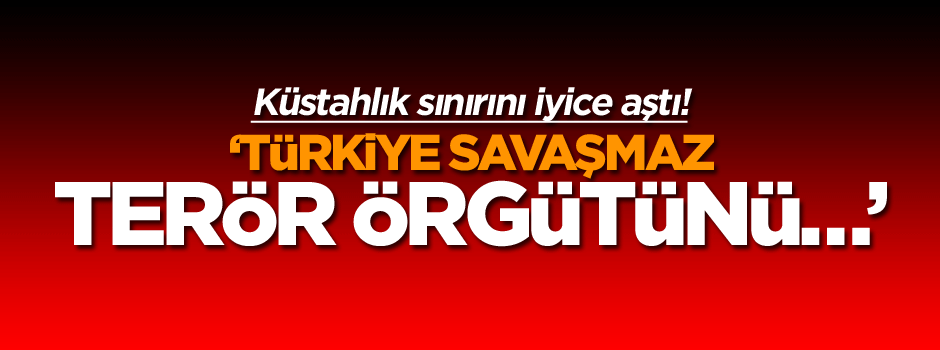 Küstahlık sınırını iyice aştı! Türkiye savaşmaz, terör örgütünü…