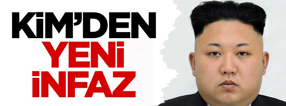 Kuzey Kore liderinden yeni infaz
