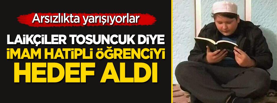 Laikçi kesim, 'Tosuncuk' Mehmet Aydın diye imam hatipli öğrenciyi hedef aldı!