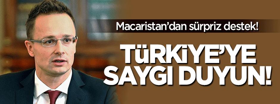 Macaristan'dan Türkiye'ye sürpriz destek!
