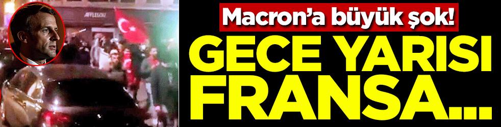 Macron'a büyük şok! Gece yarısı Fransa...