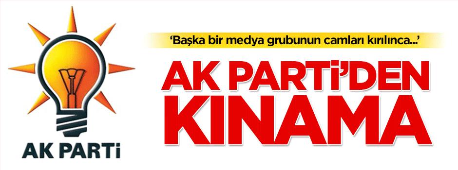 Medyaya saldırılara AK Parti'den kınama