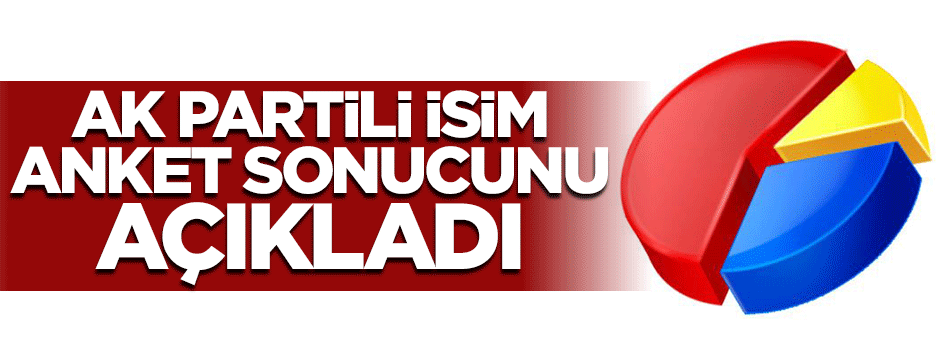 Mehmet Ali Şahin seçim anketi sonuçlarını açıkladı
