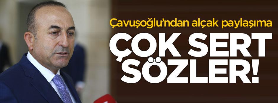Mevlüt Çavuşoğlu'dan çok sert açıklama