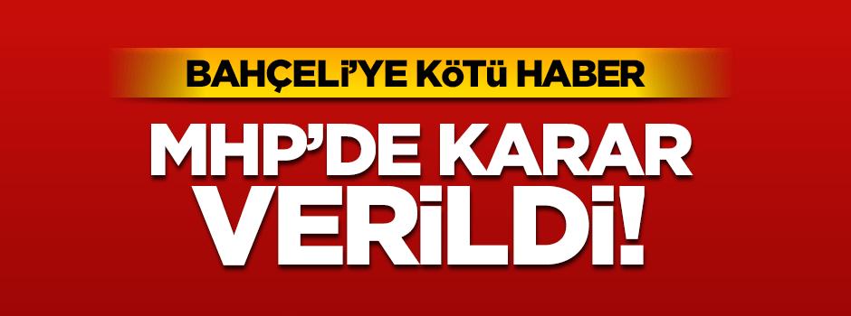 MHP Genel Merkez Şok'ta Mahkeme Kararını Verdi Olağanüstü Kurultay Yapılıyor