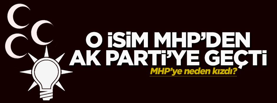 MHP'den Ak Parti'ye geçti