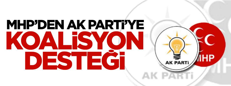MHP'den AK Parti'ye koalisyon desteği