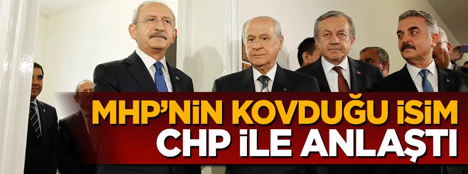 MHP'den istifa edip CHP ile anlaştı