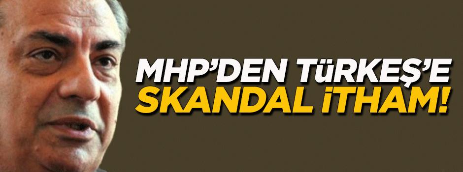 MHP'den Türkeş'e skandal itham!