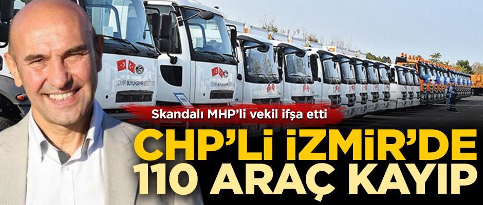 MHP'li Tamer Osmanağaoğlu: İzmir Büyükşehir Belediyesi'nde 110 araç kayıp