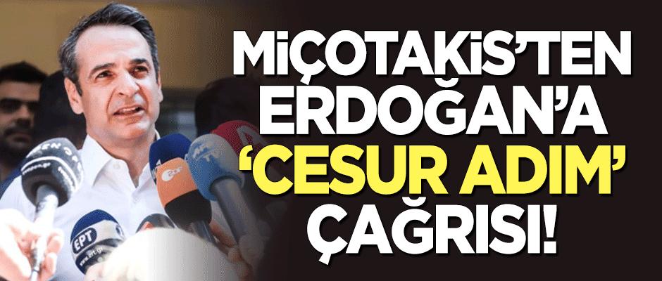 Miçotakis'ten Erdoğan'a 'cesur adım' çağrısı!