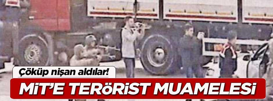 MİT mensuplarına terörist muamelesi