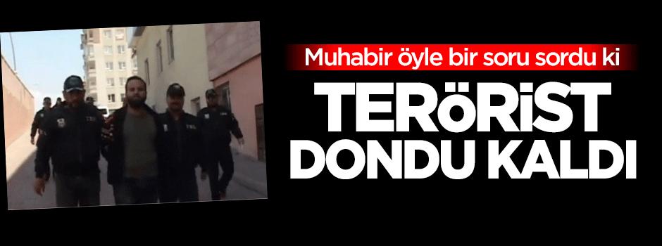 DHKP/C'li terörist o soru karşısında dondu kaldı