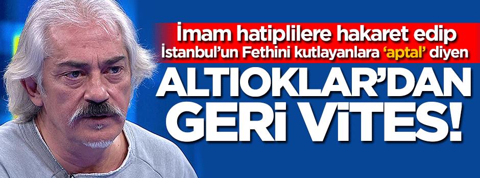 Mustafa Altıoklar skandal tweetlerini sildi