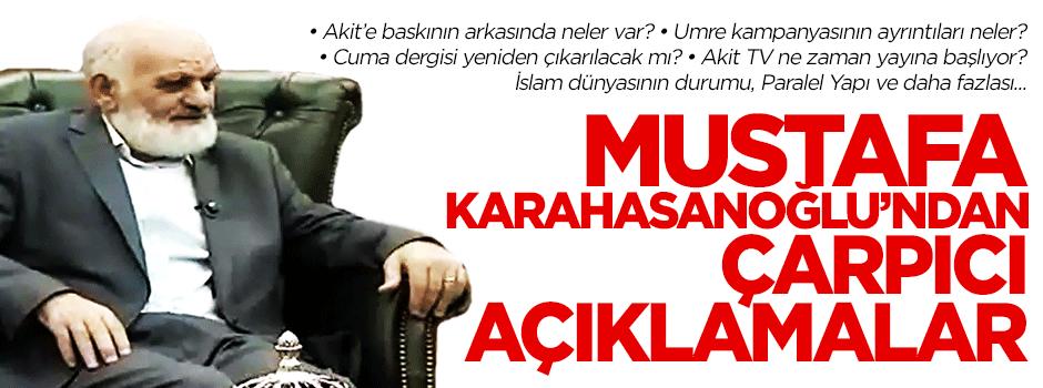 Mustafa Karahasanoğlu Kon TV'deydi