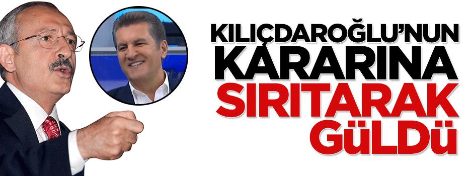 Mustafa Sarıgül Kılıçdaroğlu'nun kararına sırıtarak güldü