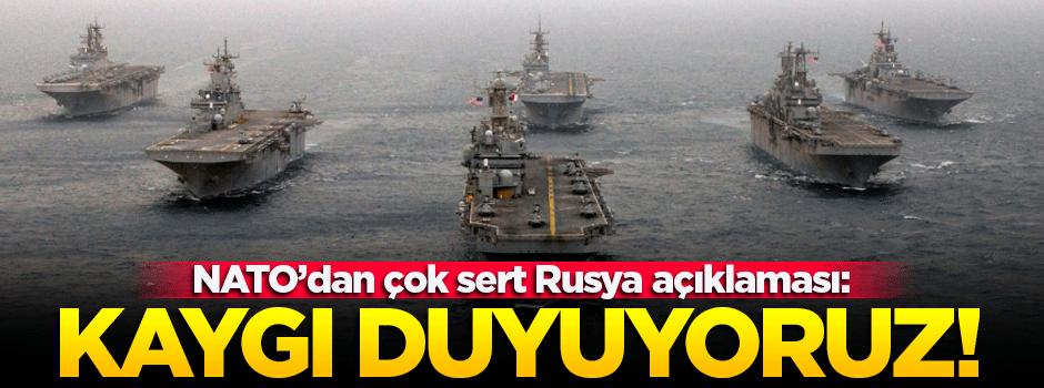 NATO'dan flaş Rusya açıklaması!