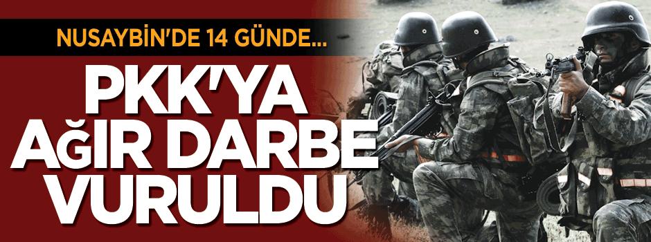 Nusaybin'de öldürülen PKK'lı sayısı